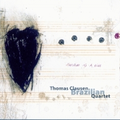 Thomas Clausen Brazilian Quartet - PRELUDE TO A KISS - Front Cover