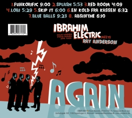 Ibrahim Electric - Meets Ray Anderson Again - Back Cover