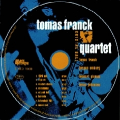Tomas Frank Quartet - CRYSTAL BALL - Front Cover