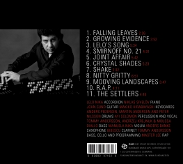 Lelo Nika - Moving Landscapes - Back Cover