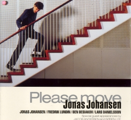 Jonas Johansen - PLEASE MOVE - Front Cover