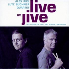 Alex Riel / Lutz Büchner - LIVE AT JIVE - Front Cover