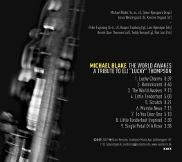 Michael Blake - The World Awakes - Back Cover