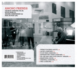 George Garzone - Among Friends - Back Cover