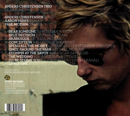 Anders Christensen - Dear Someone - Back Cover