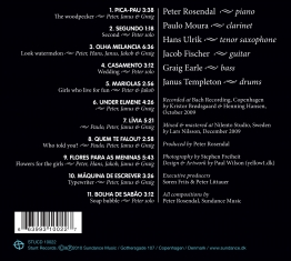 Peter Rosendal - Pica-Pau - Back Cover