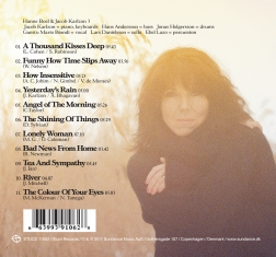 Hanne Boel - The Shining of Things - Back Cover