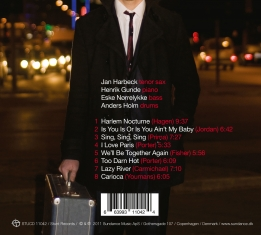 Jan Harbeck - Copenhagen Nocturne - Back Cover