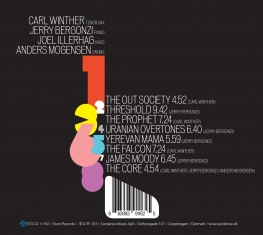 Carl Winther Quartet - Sonic Shapes - Back Cover