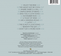 Veronica Mortensen - Catching Waves - Back Cover