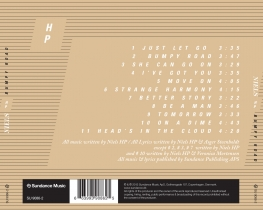 Niels HP - Bumpy Road - Back Cover