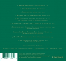 Hans Ulrik - The Christmas Song - Back Cover