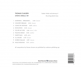 Thomas Clausen & Steve Swallow - Morning... Dreaming... - Back Cover