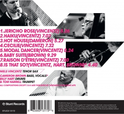 Niels Vincentz - Is That So? - Back Cover