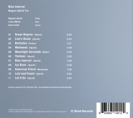 Magnus Hjorth - Blue Interval - Back Cover