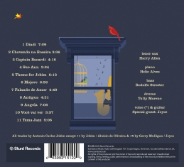 Harry Allen - Something About Jobim - Back Cover
