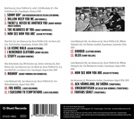 OSCAR PETTIFORD and JAN JOHANSSON - IN DENMARK 1959-1960 FEATURING STAN GETZ - Back Cover