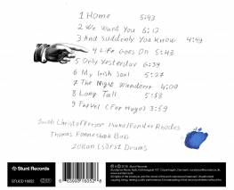Jacob Christoffersen - WE WANT YOU - Back Cover