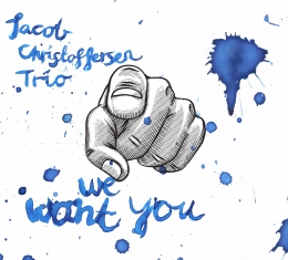 Jacob Christoffersen - WE WANT YOU - Front Cover