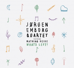 Jørgen Emborg ft. Mathias Heise - WHAT'S LEFT ? - Front Cover