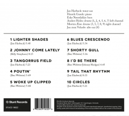Jan Harbeck - The Sound The Rhythm - Back Cover