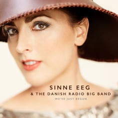Sinne Eeg - We've Just Begun - Front Cover