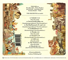 Peter Rosendal - Trickster - Back Cover