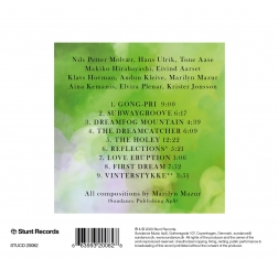 Marylin Mazur's Future Song - Live Reflections - Back Cover